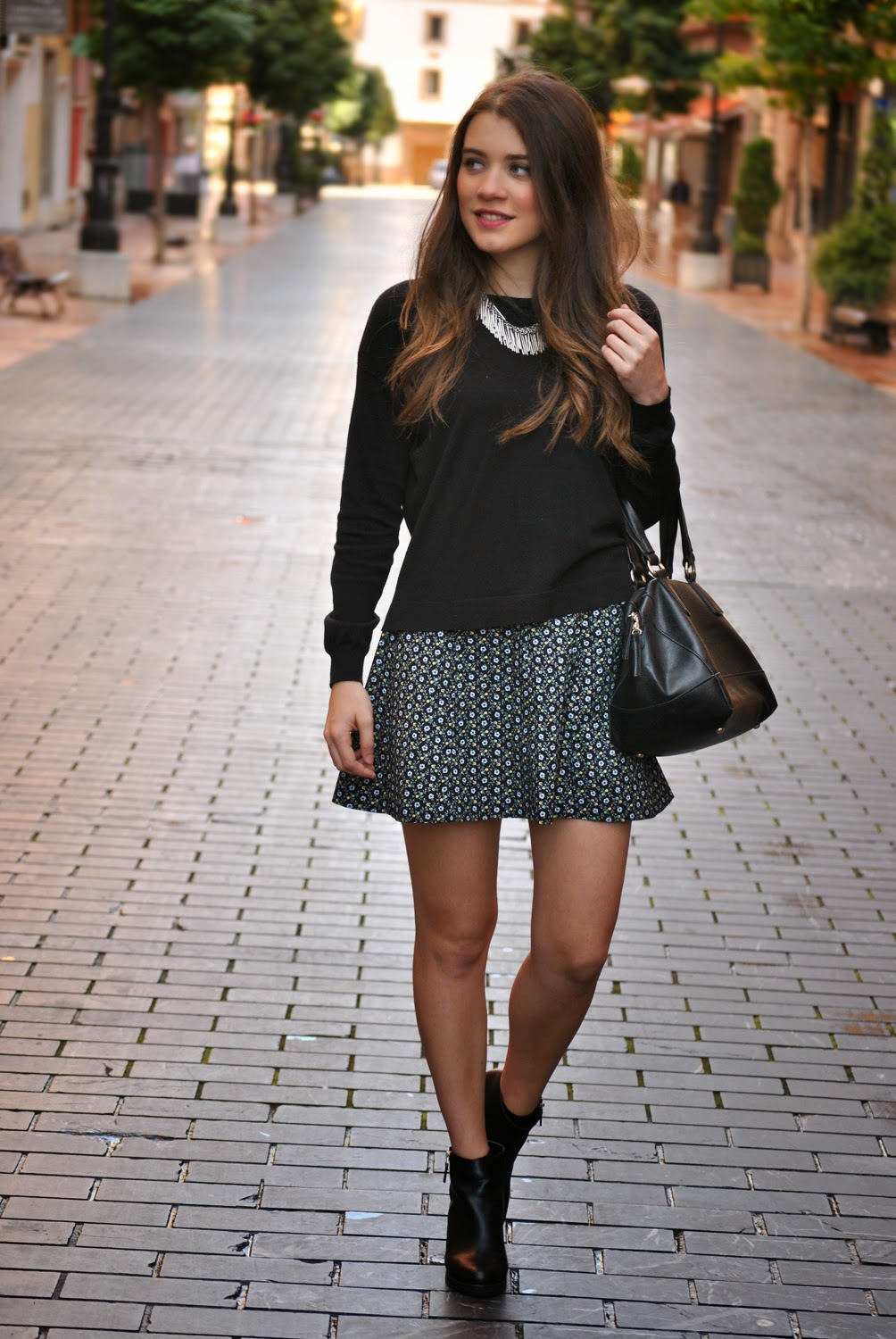 Outfit Of The Day: Winter Skirt